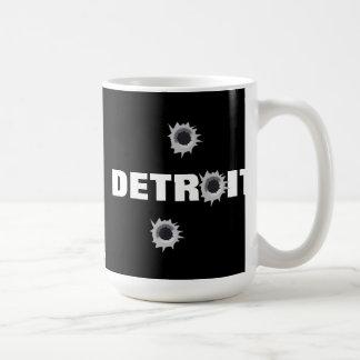 Detroit Taza Básica Blanca