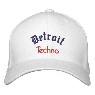Detroit Techno Gorras De Béisbol Bordadas