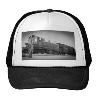 Detroit Terminal Railroad Diesel Engine 104 Trucker Hat