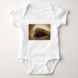 Detroit Terminal Railroad Engine at Adrian MI Baby Bodysuit