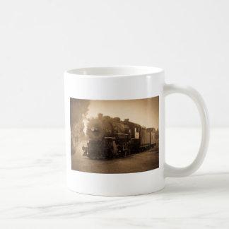 Detroit Terminal Railroad Engine at Adrian MI Coffee Mugs