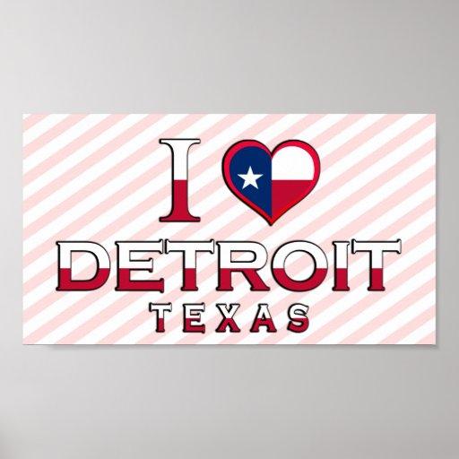 Detroit, Texas Poster