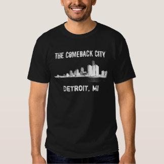 Detroit - The Comeback City T-shirts