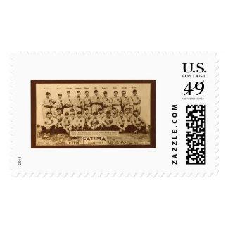 Detroit Tigers Baseball 1913 Postage Stamps