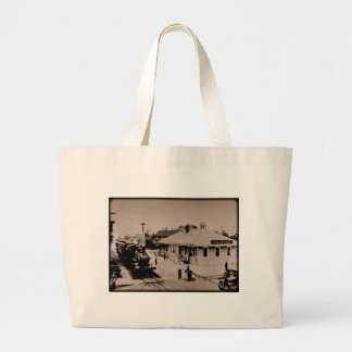 Detroit, Toledo and Ironton Railroad Large Tote Bag