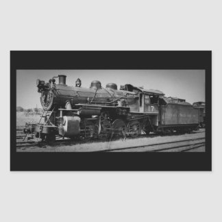 Detroit Toledo & Ironton Railroad Engine 17 Rectangular Sticker