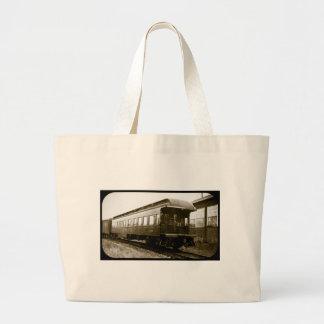 Detroit Toledo & Ironton Railroad Obsy Car Large Tote Bag