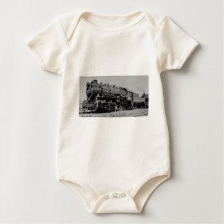 Detroit Toledo & Ironton Shoreline Engine 115 Baby Bodysuit