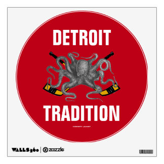 DETROIT TRADITION WALL DECAL