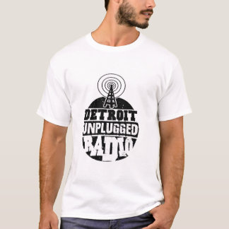 Detroit Unplugged Shirt (white)