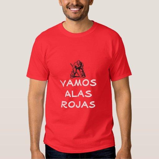 Detroit Vamaos Alas Rojas T Shirt