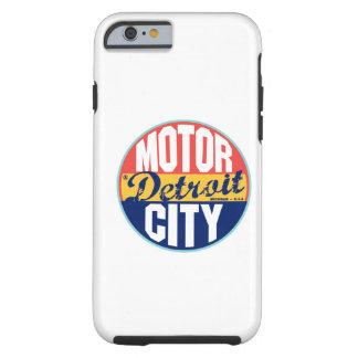 Detroit Vintage Label Tough iPhone 6 Case