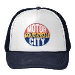 Detroit Vintage Label Trucker Hat