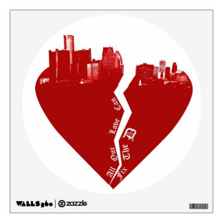 Detroit Wall Decal - Fix the D