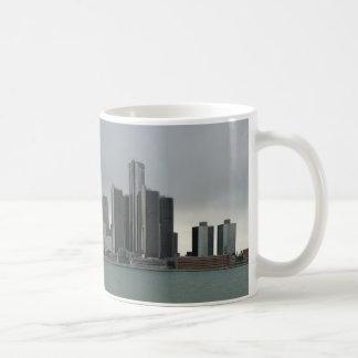 Detroit Waterfront Coffee Mug