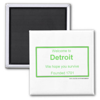 Detroit welcome magnet