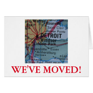 Detroit We've Moved address announcement