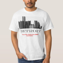 "Detroit ""Where the weak are killed and eaten T-Shirt"