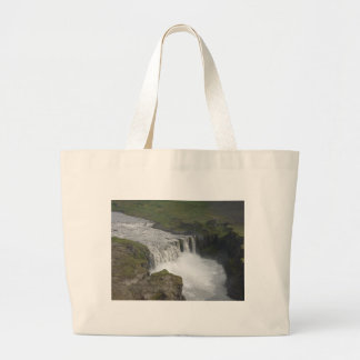 Dettifoss Iceland Canvas Bags