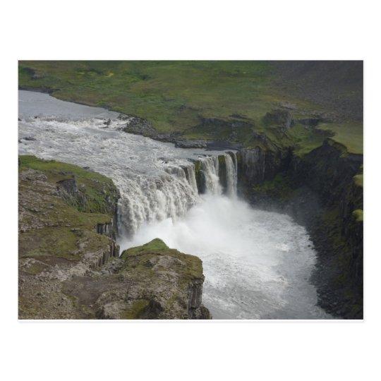 Dettifoss Iceland Postcard