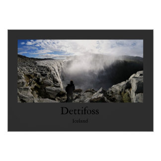Dettifoss (Iceland) Poster