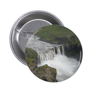 Dettifoss Island Buttons
