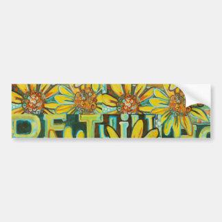 DeTuin, The Garden, Customizable Gifts Car Bumper Sticker