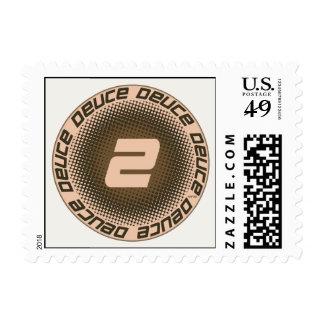 Deuce #1 postage stamp