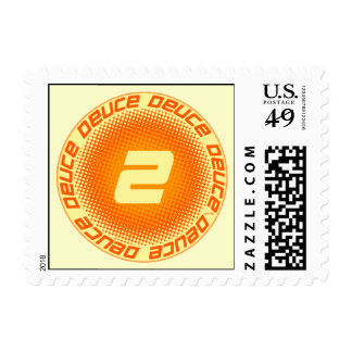 Deuce #2 stamp