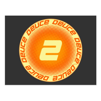 Deuce #2 tarjetas postales
