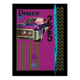 Deuce and a Quarter Postcard