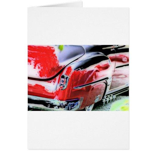 Deuce, Chevy Bel Air Greeting Card Template Card