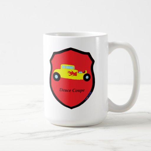 Deuce Coupe Classic White Coffee Mug