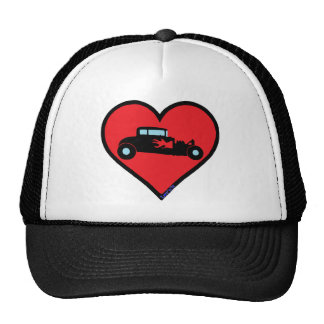 deuce coupe hot rod trucker hat