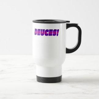 DEUCES-Pink-Purple Mugs