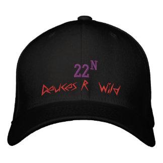 Deuces R' Wild, 22, N Embroidered Baseball Cap