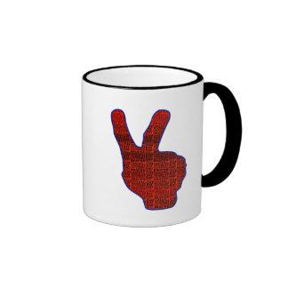 DEUCES Red Coffee Mug