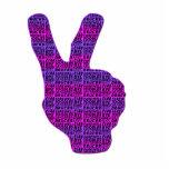 DEUCES-Rosado-Púrpura Esculturas Fotográficas
