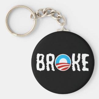 Deuda anti Obama anti Llavero Redondo Tipo Pin