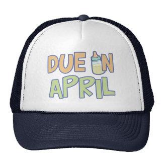 Deuda en abril gorro