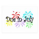 Deuda en julio postal