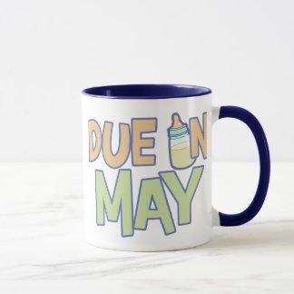 Deuda en mayo taza