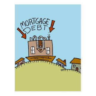 Deuda hipotecaria al revés postal