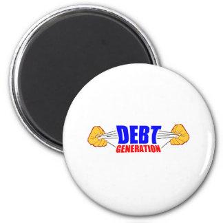 deuda imán redondo 5 cm