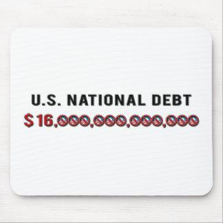 Deuda nacional de los E.E.U.U. Tapete De Ratón