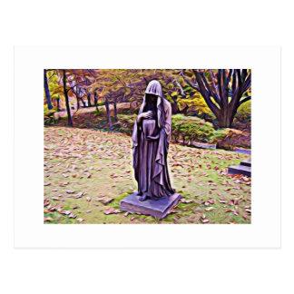 Deudo del otoño tarjeta postal