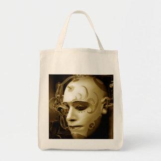 Deus Ex Machina Grocery Tote Bag