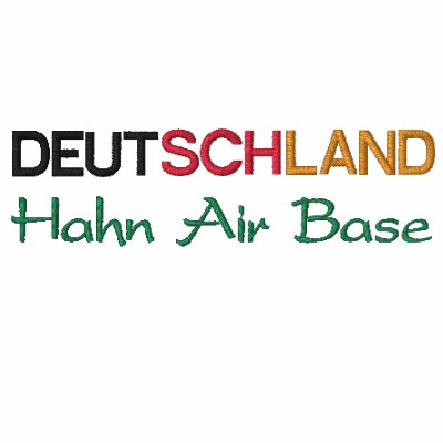 Deutchland Hahn AB Embroidered Polo