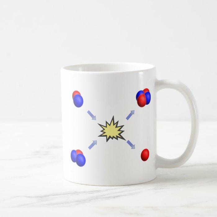 Deuterium-Tritium fusion Coffee Mug