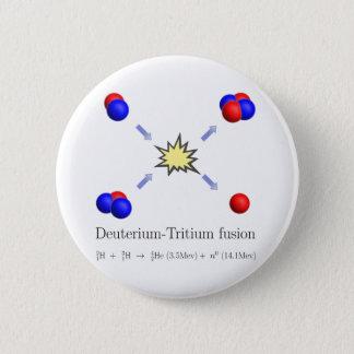 Deuterium-Tritium fusion with equation Button